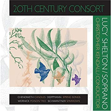 2004 - 20TH CENTURY CONSORT - featuring soprano Lucy Shelton [Innova 606] CD Cover