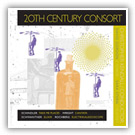2005 - 20TH CENTURY CONSORT - featuring David Gordon, tenor and Sara Stern, flute [Innova 633] CD Cover