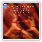 1997 - NICHOLAS MAW [ASV CD DCA 999, published in the U.K.] CD Cover